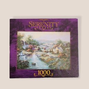 SERENITY SERIES Small Town Jigsaw Puzzle